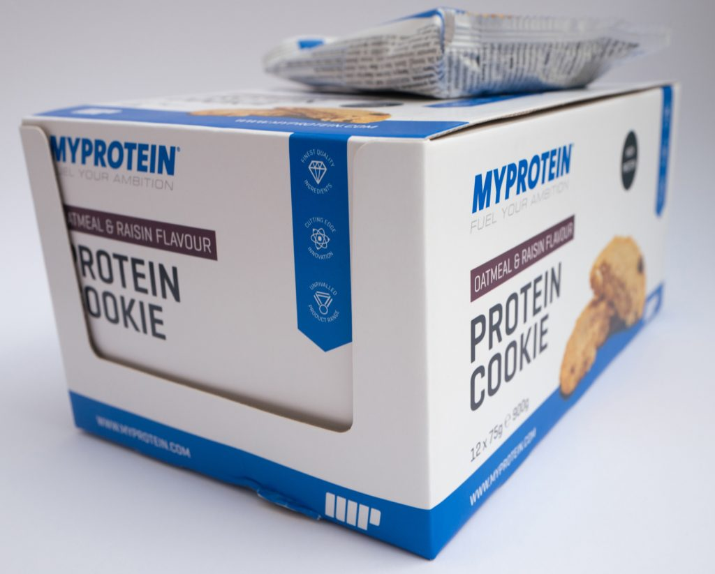 My protein cookie box