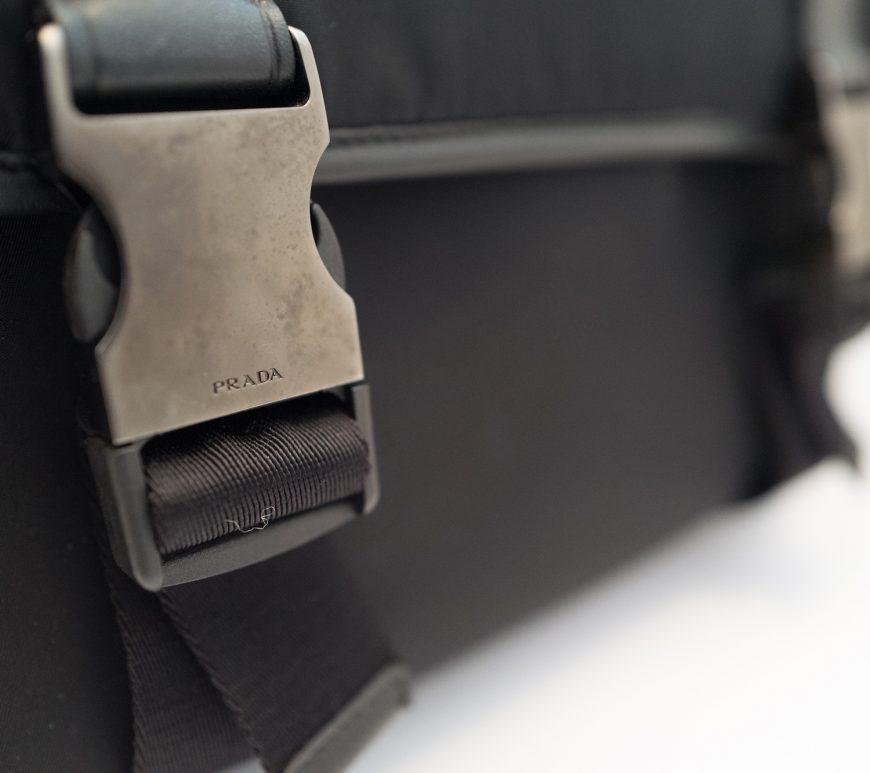 Prada camera bag - buckle