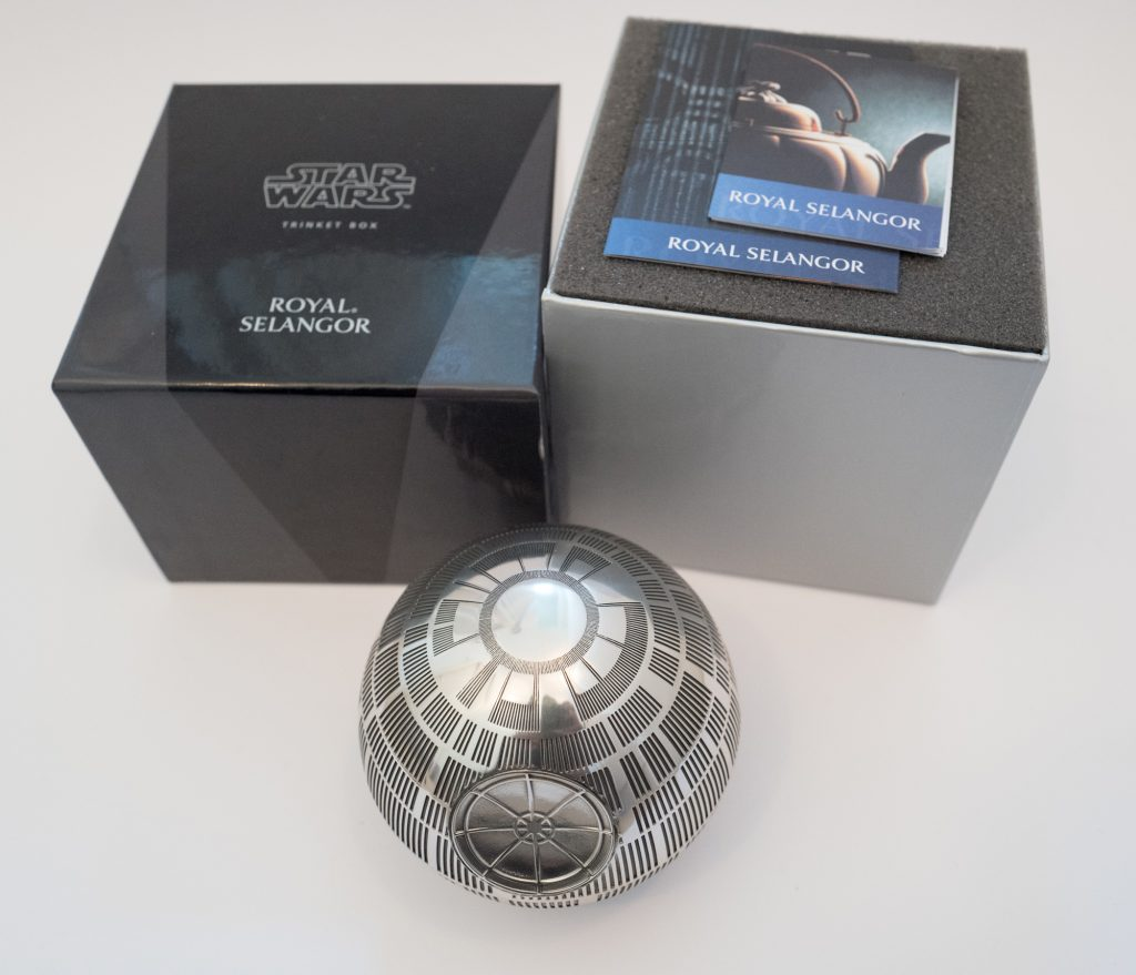 Royal Selangor Star Wars death star - with box