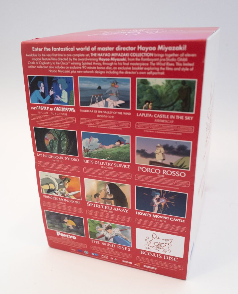 The Hayao Miyazaki collection - Studio Ghibli blu-ray boxset