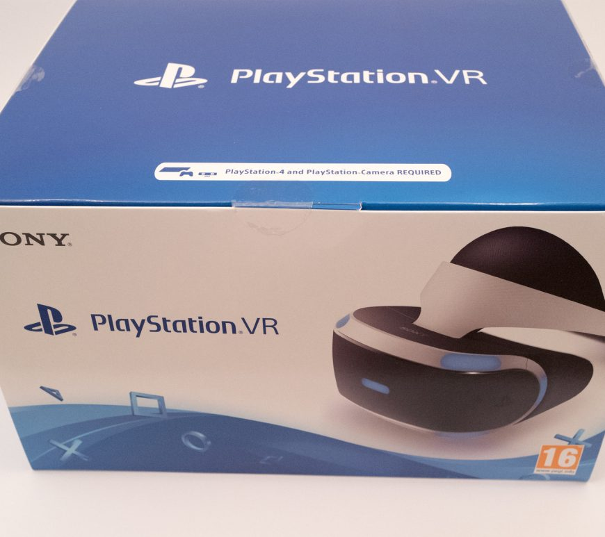 Sony Playstation VR - Outer box