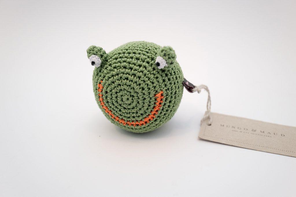 Mungo & Maud - Frog head dog toy