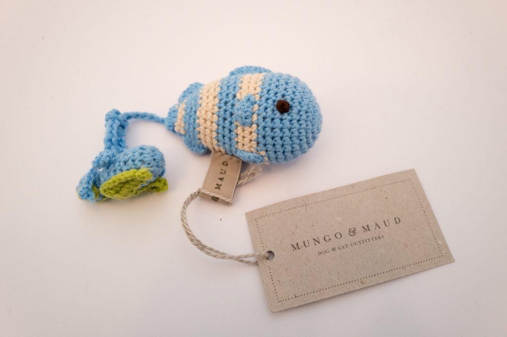 Mungo & Maud - Fish dog toy