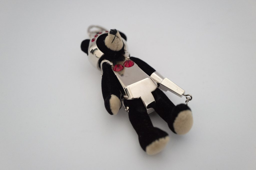 Prada robot teddy bear trick