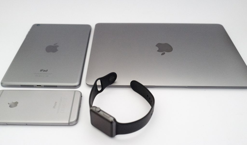 Apple watch, iPhone 6, iPad mini retina & MacBook retina