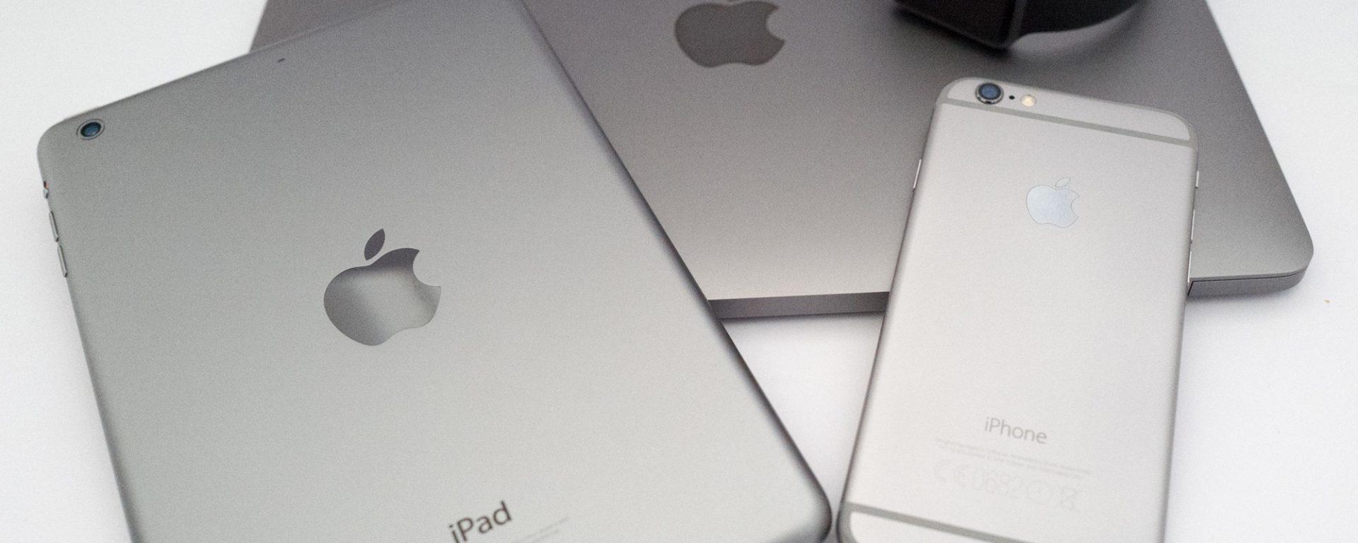 Apple watch, iPhone 6, iPad mini retina & MacBook retina