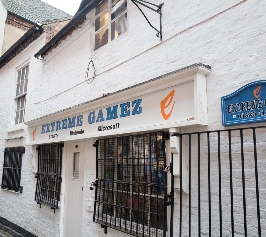 Extreme Gamez - Retro gaming store in Ashby-de-la-Zouch