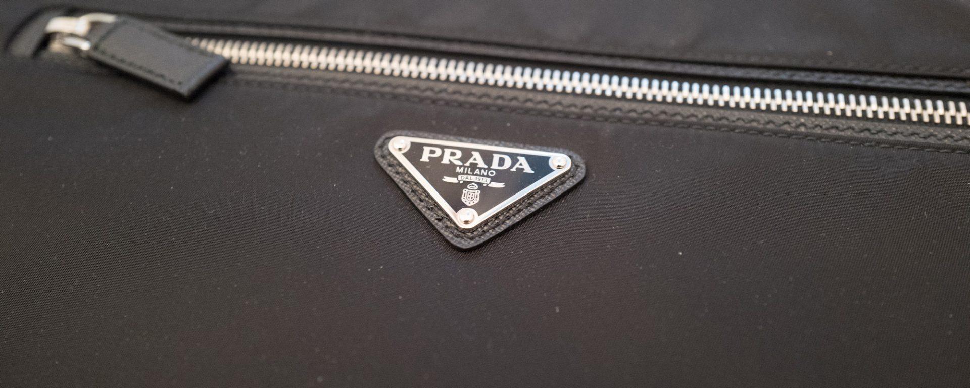 buy online c3855 287f7 Prada laptop case – Retro Gym Geek