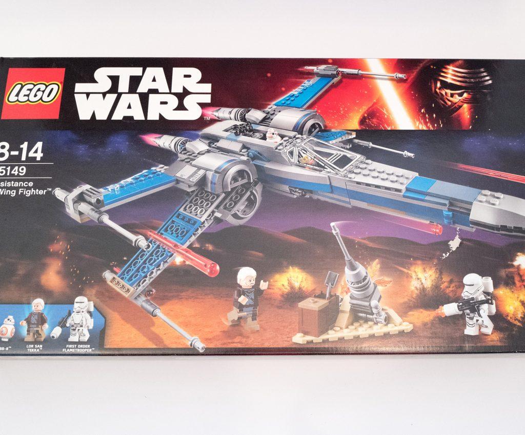 Star Wars Lego - X-Wing - Box