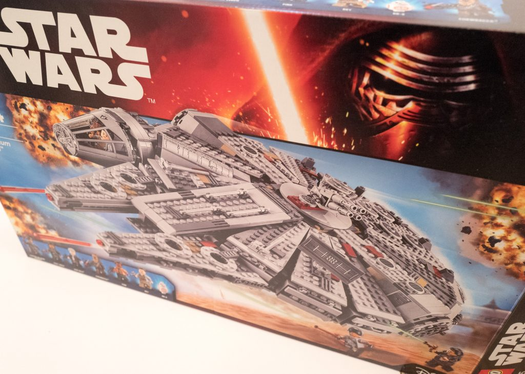 Star Wars Lego - Millennium Falcon - Box