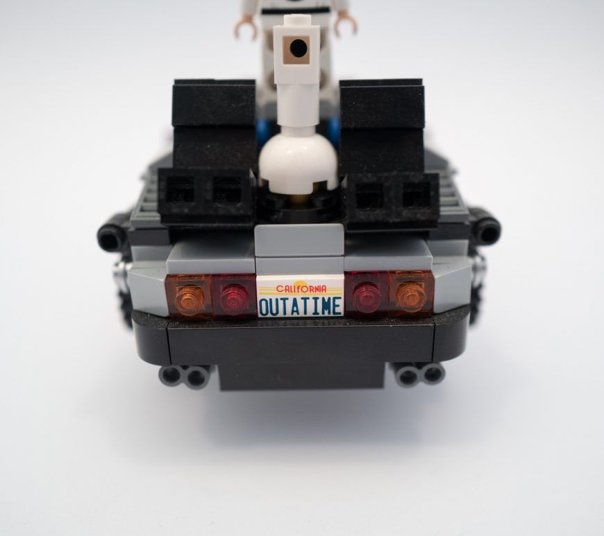 Lego Back to the Future car