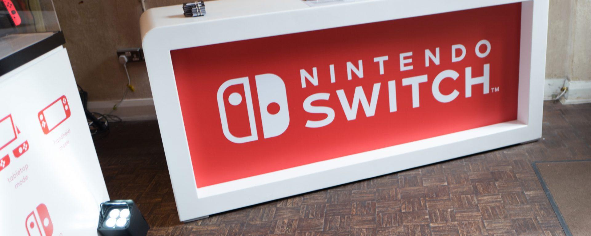 Nintendo switch - London event