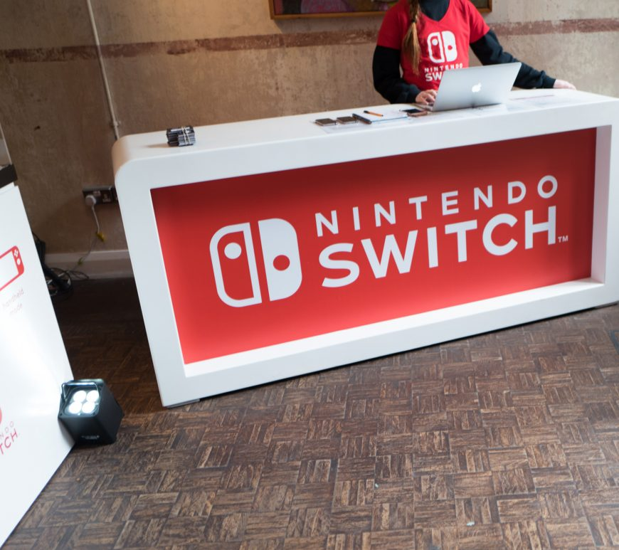 Nintendo switch - London event