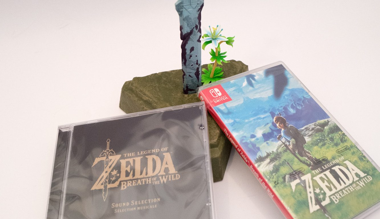 Nintendo Switch - Zelda Breath of the wild - Limited edition