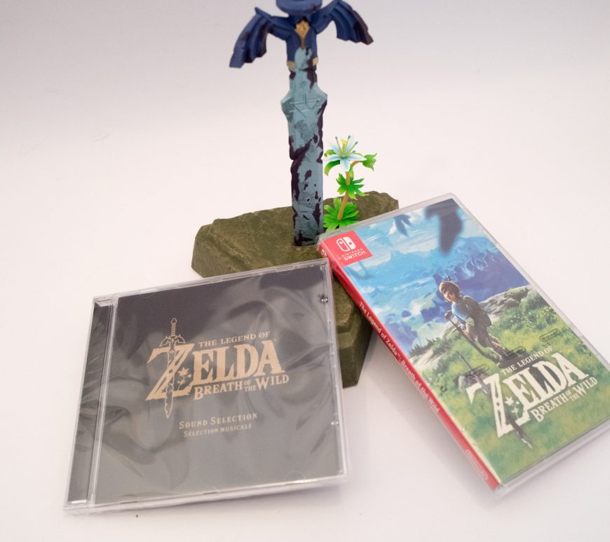 Nintendo Switch - Zelda Breath of the wild - Limited edition