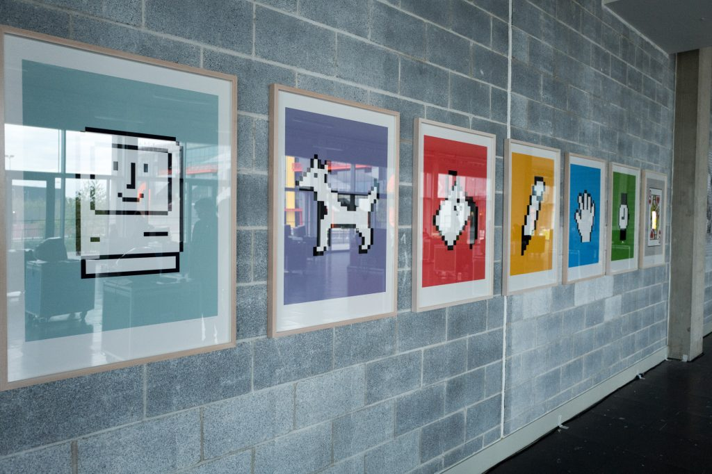 Icon prints - 64 Bits - An Exhibition of the webs lost past