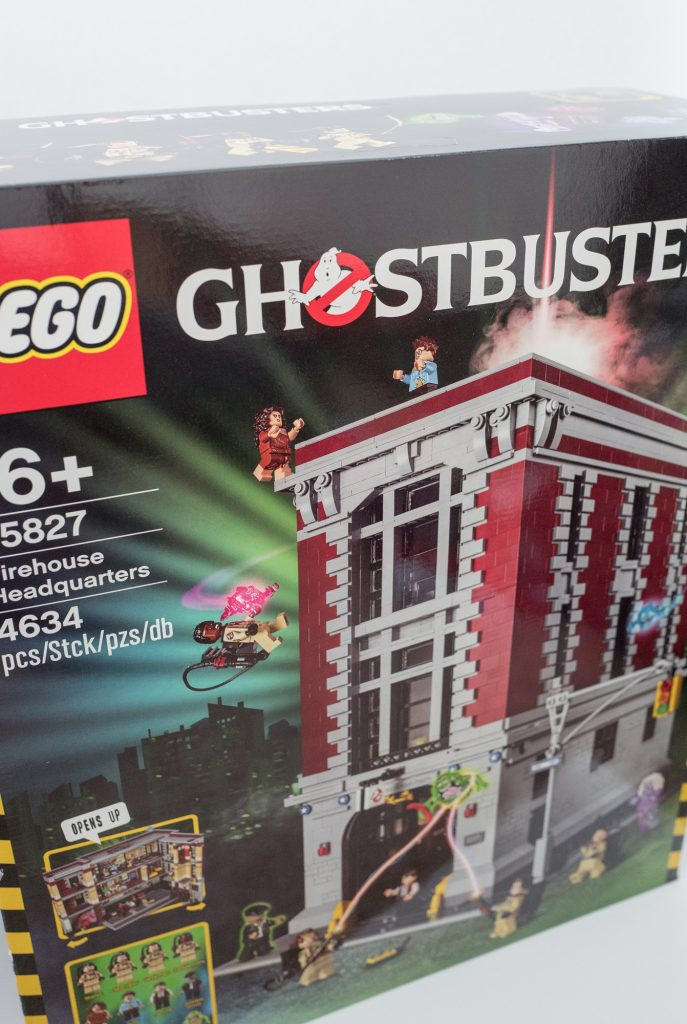Lego Ghostbusters Firehouse Headquarters - Box
