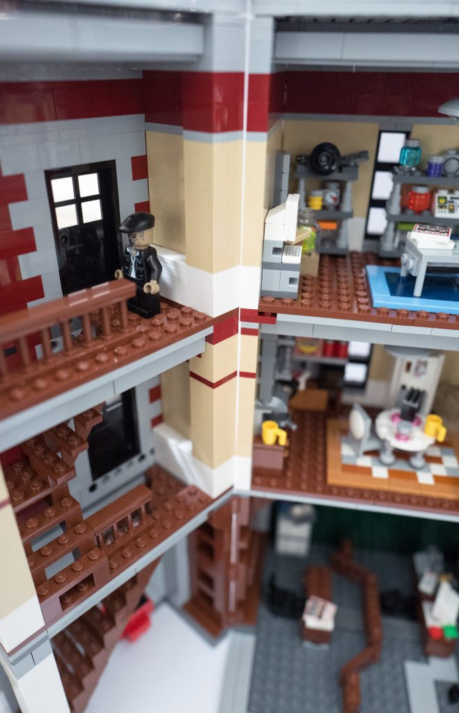 Lego Ghostbusters Firehouse Headquarters