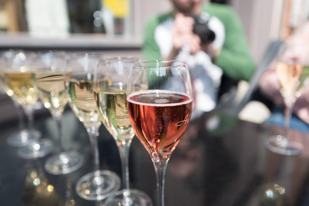 AU36 champagne shop and restaurant
