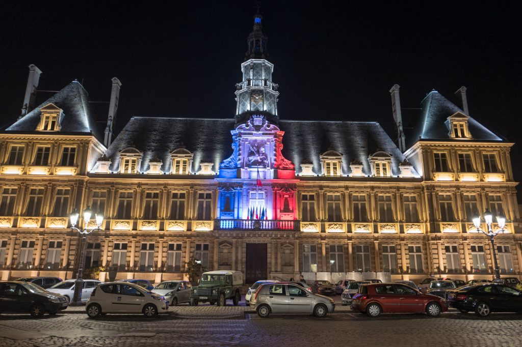 Reims townhall