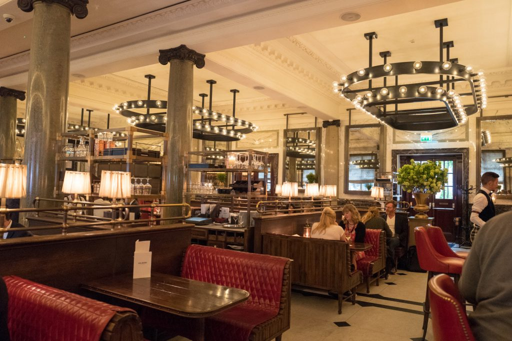 Holborn Dining Room Gin Bar Review Retro Gym Geek