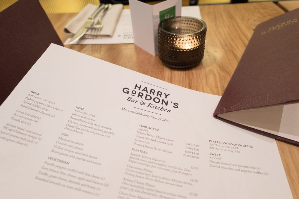 Harry Gordon's bar - Selfridges London