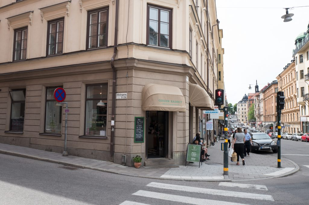 Green Rabbit bakery - Mathias Dahlgren - Stockholm