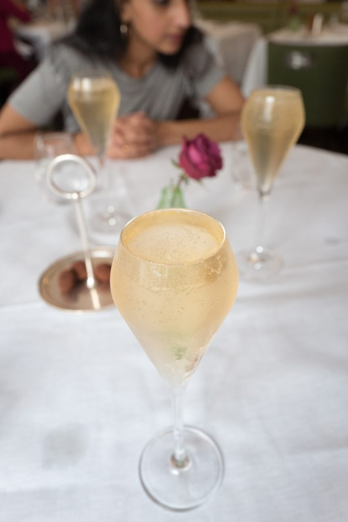 Weekend champagne brunch - Hix Mayfair restaurant, Browns Hotel, London