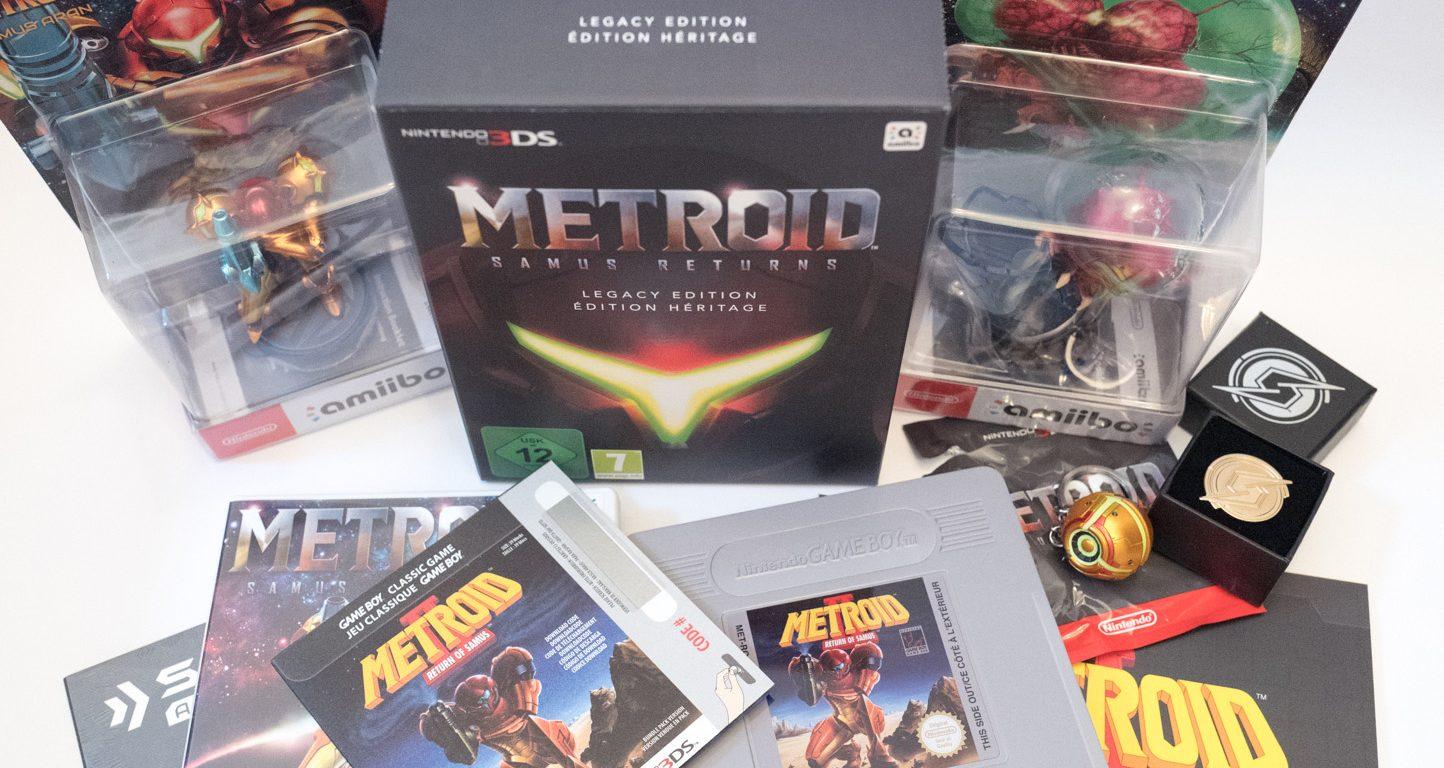 Metroid - Samus returns - Legacy edition - Nintendo 3DS