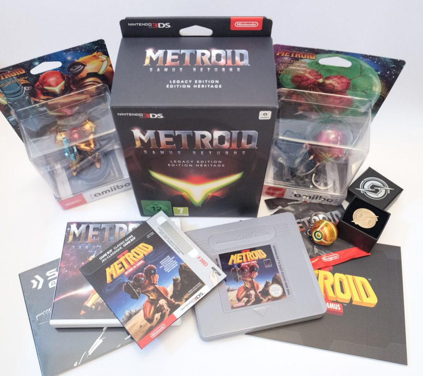 Metroid - Samus returns - Legacy edition - Nintendo 3DS