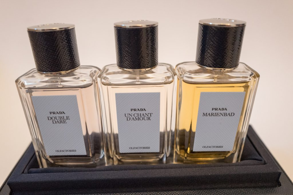 Prada Olfactories iconic scents set