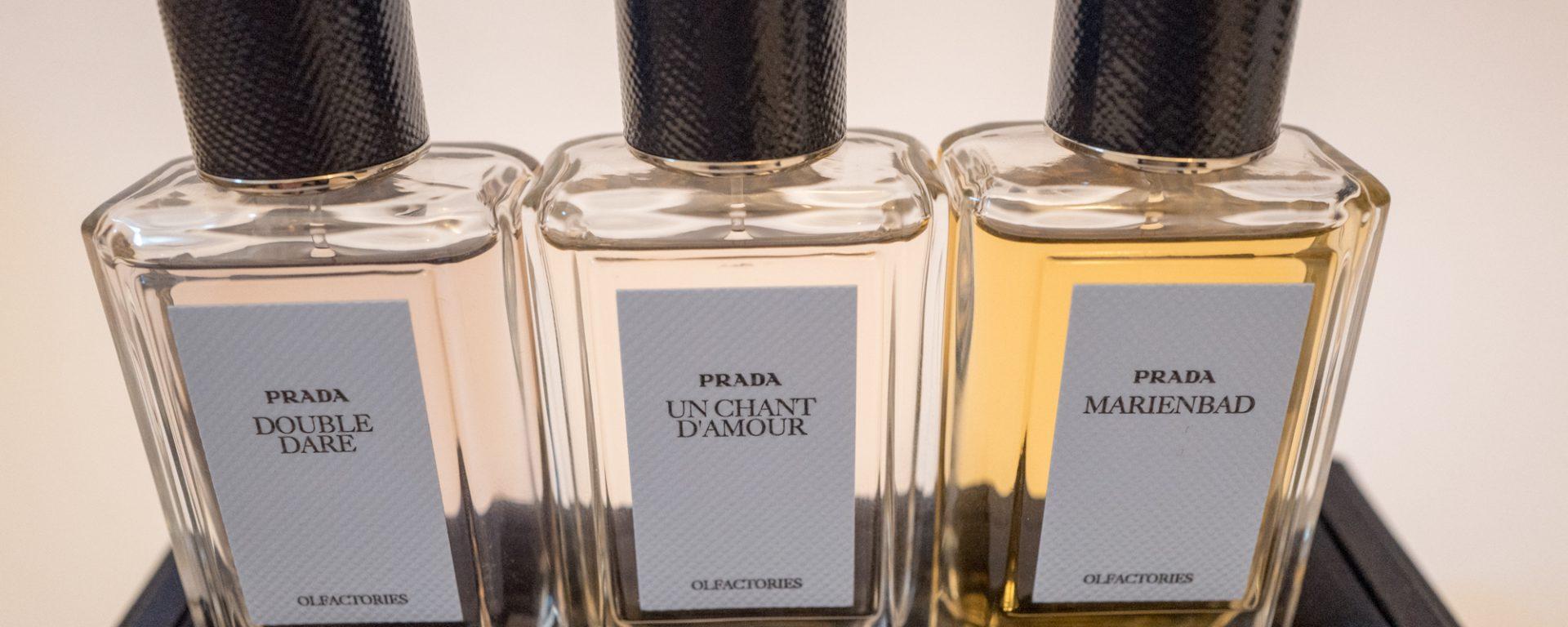 Prada Olfactories iconic scents set