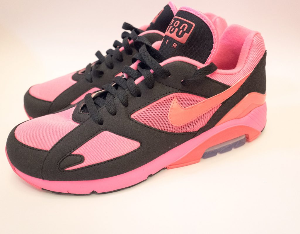 Nike Air 180 X CDG (COMME des GARCONS) limited edition - Pink & black sneakers