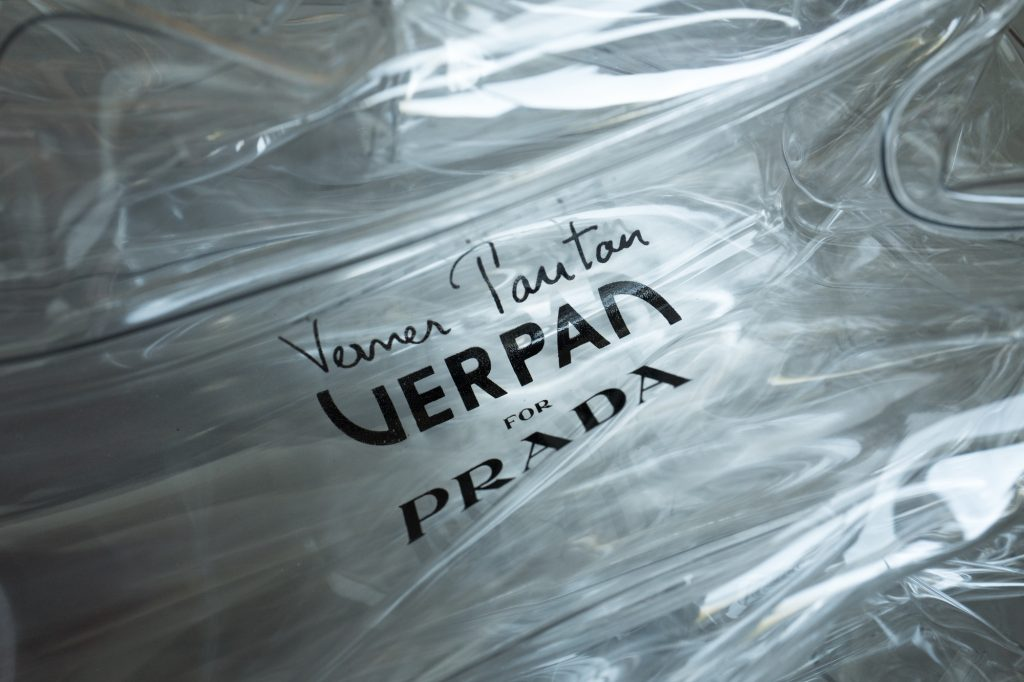 Verpan for Prada stool - Verner Panton